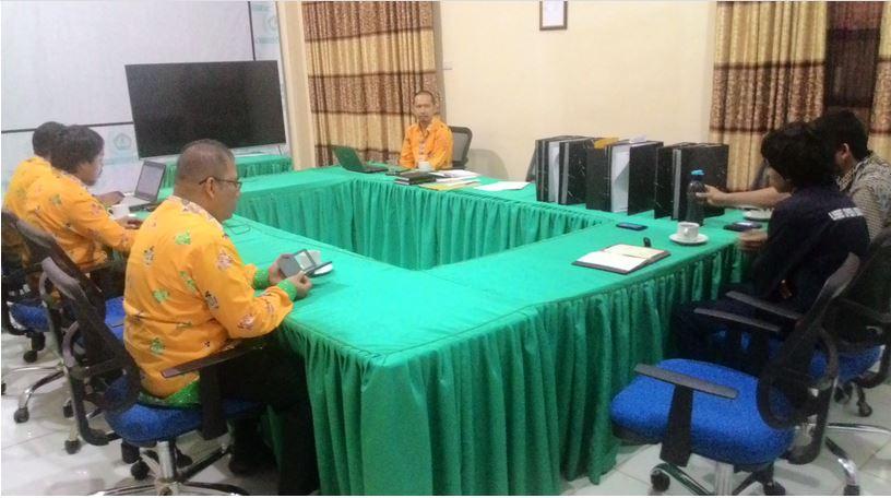 Rapat Evaluasi Kinerja Divisi PDI