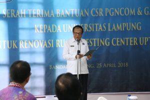 Sambutan Rektor Unila