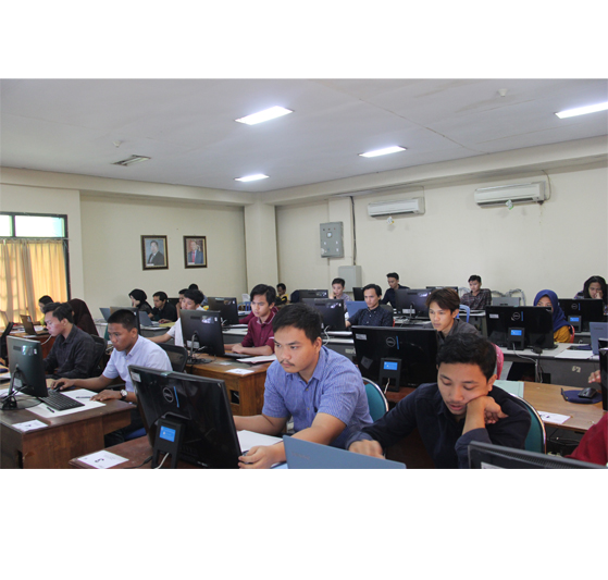 Pelaksanaan Test Ujian Penerimaan Mahasiswa Baru D3 Dilaksanakan Di UPT TIK