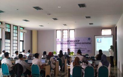 UPT TIK Universitas Lampung Menjadi Tempat Pelaksana Workshop Sistem Pembelajaran Daring  (SPADA)