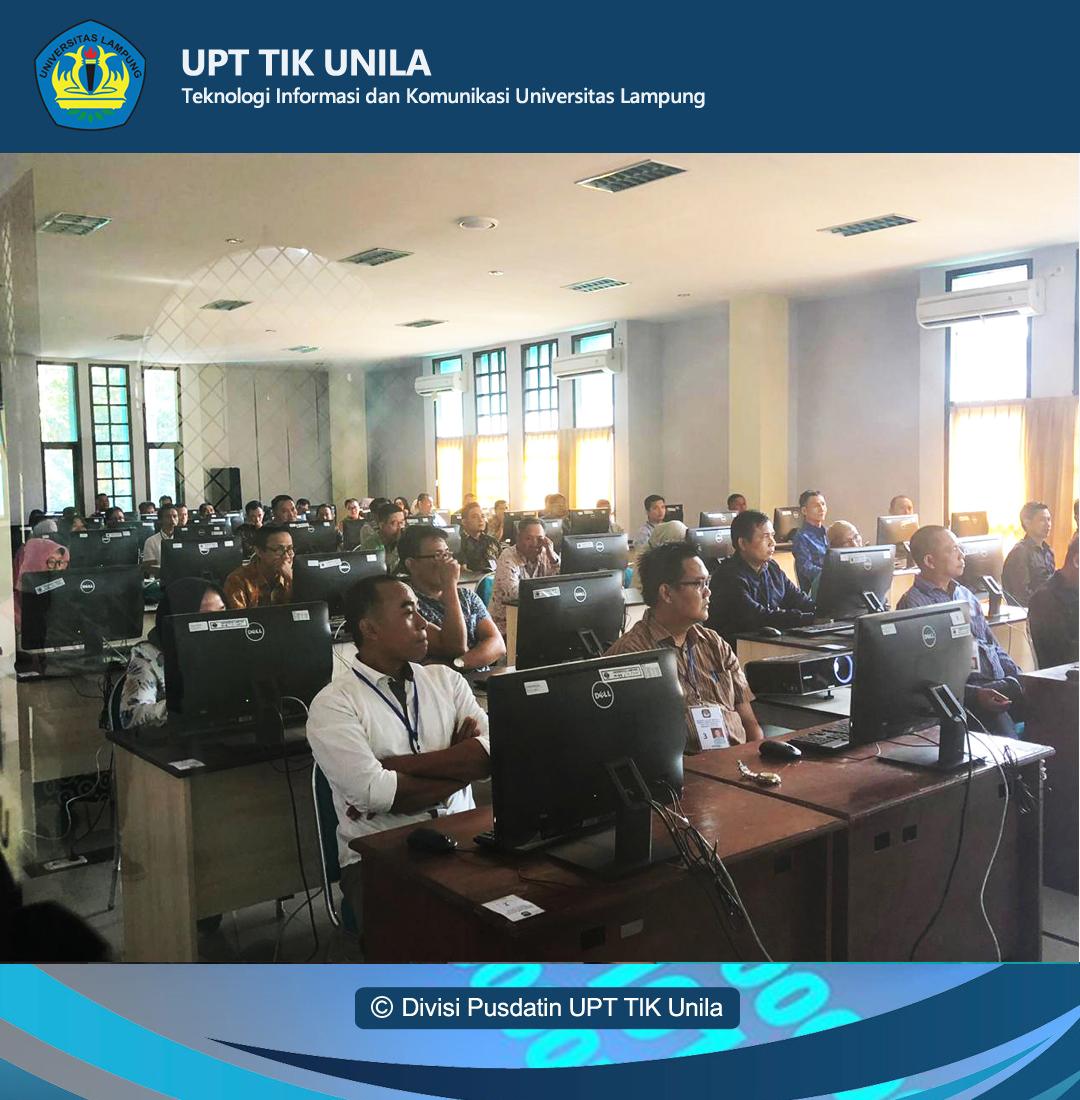 Computer Base Test TIM Seleksi KPU Dilaksanakan DI UPT TIK Universitas Lampung