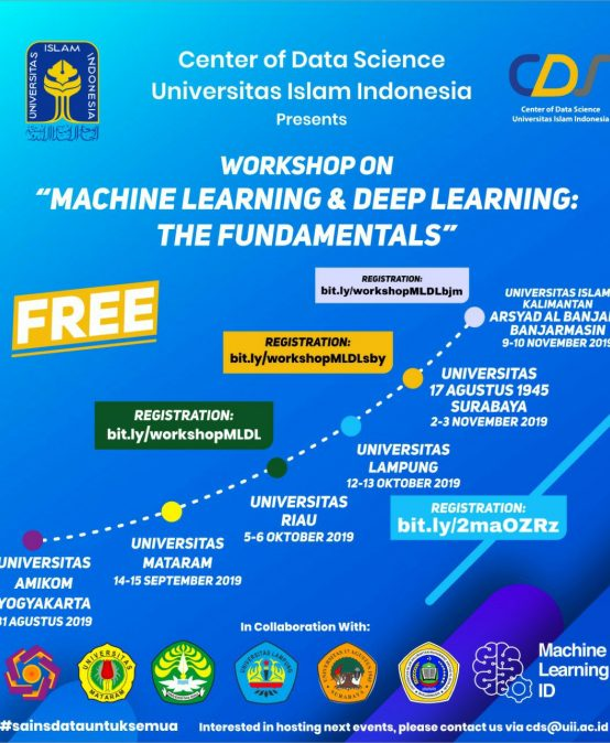 "Unila Work Shop on ""Machine Learning dan Deep Learning : The Fundamentals"""