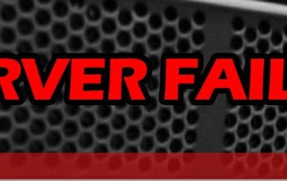 Server Failed