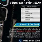 Beauty Contest Internet Unila 2020
