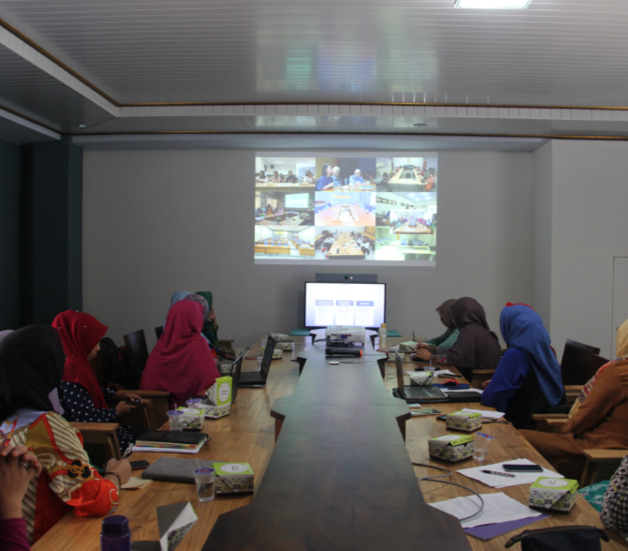 """Video Conference Program """"L'Oreal-UNESCO For Women In Science(FWIS) tahun 2020."""