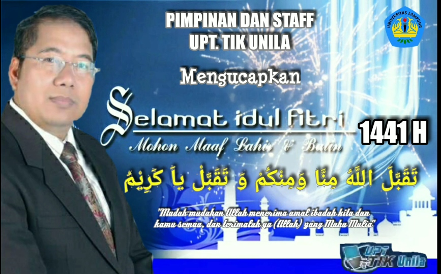 Selamat Hari Raya Idul Fitri 1 Syawal 1441 H (24 Mei 2020) TAQOBBALALLAHU MINNA WA MINKUM BARAKALLAHU FIIKUM