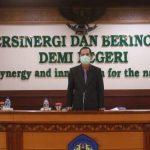 Halal Bihalal dan Seminar Daring Forum Rektor