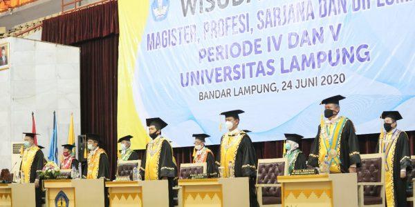 WISUDA DARING UNIVERSITAS LAMPUNG 2020