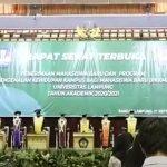 Pengenalan Kehidupan Kampus Bagi Mahasiswa Baru (PKKMB) Universitas Lampung 2020